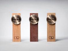 new designer's award trophy