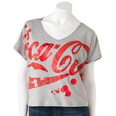 Coca-Cola Crop Tee, Kohls-$9.60