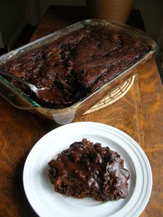 CHOCOLATE PUDDING CAKE | The Southern Lady Cooks