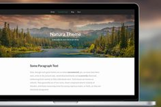 Natura Theme For Kirby CMS by Syropia Emporium on Creative Market