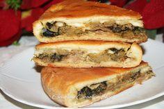 Scacciata con broccoli affogati - Ricetta Siciliana http://blog.alice.tv/cannellaecannelloni/2014/11/16/scacciata-con-broccoli-affogati-ricetta-siciliana/