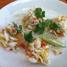 Crab Tostada @ La Condesa (Austin)