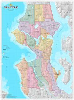 Vancouver Kits Neighborhood Map Products