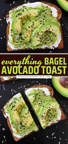 Mix up your morning routine with this easy breakfast idea! Topped with cream cheese and Everything Bagel Seasoning, this avocado toast recipe is a game-changer. Treat Mom with this Mother's Day brunch idea!