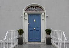 Solid timber handcrafted front door, 4 panels, Dublin