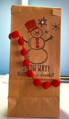 Christmas Gift idea - Petite Cafe Gift Bags -  Stampin' Up!   Visit My Blog:  http://djcardsandmore.typepad.com/my-blog/