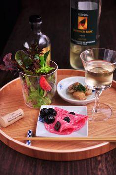 花ヲツマミニ 「グラスサラダ」 家飲みの食卓日記