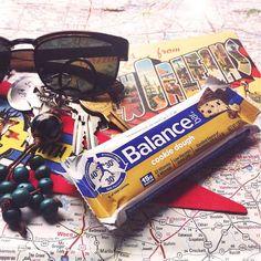 Travel the world with Balance Bar.