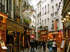 Latin Quarter- Paris, France