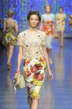 Dolce & Gabbana - Spring / Summer 2012
