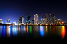 Night scene of Bangkok
