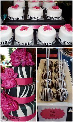 zebra party for Caroline