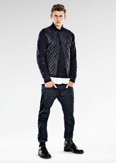 Lookbook: G-Star RAW Pre AW14 | IBEYOSTUDIO #GStarRAW #Lookbook #Denim #Fashion #Look #Men #Style #ACrotch