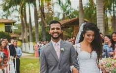 Penteados para noivas afro / cabelo encaracolado