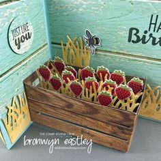 Cool Treats, Wood Crate Framelits, Double Z-Fold Box Card, The Stamp Review Crew, Suite Sentiments, Touches of Texture, Bronwyn Eastley, Independent Stamping' Up! Demonstrator Australia
