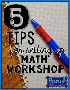5 Tips for Setting Up Math Workshop | Minds in Bloom