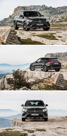 The mid-size SUV model series gains a particularly dynamic addition in the form of the new Mercedes-AMG GLC 43 4MATIC, which celebrates its world premiere at the 2016 New York International Autos Show in New York. [Mercedes-AMG GLC 43 4MATIC   combined fuel consumption 8.7-8.3 l/100km   combined CO2 emission 199-189 g/km   http://mb4.me/efficiency_statement]