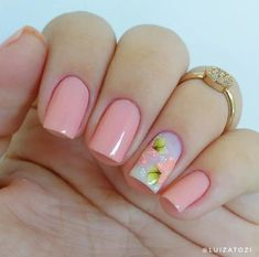 Gold Gel Nails, Aycrlic Nails, Manicure And Pedicure, Fun Nails, Pretty Nails, Violet Pastel, Fabulous Nails, Simple Nails, How To Do Nails