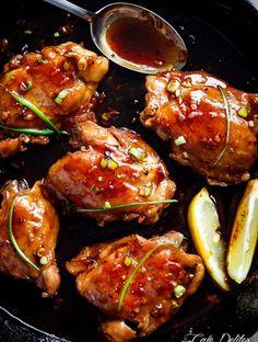 Garlic Teriyaki Chicken Thighs