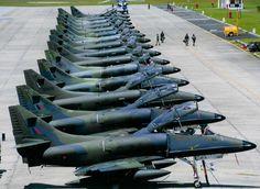 A4K Skyhawk Flight line @ RNZAF Ohakea