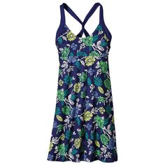 Patagonia Morning Glory Dress (Womens) New - Womens Skirts & Dresses - Rock/Creek