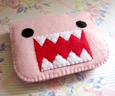 Cute Domo change purse
