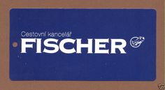 Fischer Air, Czech Defunct Airline Baggage Tag