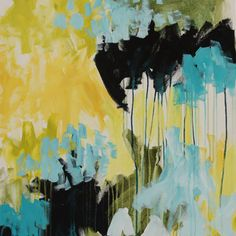 """Original, one of a kind painting by megan auman """"Turn Towards""""Acrylic on Canvas24"""" x 30"""" 1 1/2"""" deep, gallery wrapped canvas with edges painted white - suitab"""