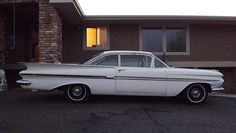 1959 CHEVROLET IMPALA SPORT COUPE BARN FIND 2 DR V8 AUTOMATIC POWER SEAT PS