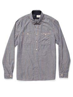cotton pullover, cross-grain pocket, flat bottom hem