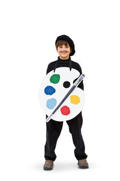 Artist - Create Your Own Halloween Costume - Southernliving. Turn your budding painter into a Picasso.  Step-by-Step Costume Directions