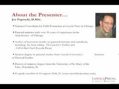 Part 1 - Section 1: An Introduction to the Catechist's Webinar (1/15)