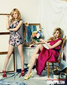 After School Turn into Sexy Girl Group on \'COSMOPOLITAN\' Photo Shoot