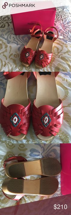DEAL OF THE DAYSwedish Hasbeens SALE PRICE IS FINAL! So stinkin adorable, brand new Swedish Hasbeens! I just love these but they're a bit too big for me. They are brand new, never been worn only tried on. Will come with box. NO TRADES. OPEN TO ALL OFFERS Swedish Hasbeens Shoes