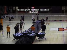 Head coach Kevin Hambly takes his team through a variety of drills to help his team block more balls. And gives cues to players on what they should be lookin. Volleyball Ideas, Volleyball Drills, Illinois, Coaching, University, Knowledge, Treats, Sports, Youtube