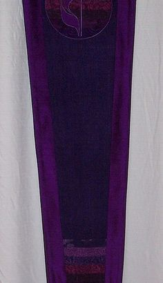 Beautiful contemporary liturgical textiles for churches featuring modern designs, luxurious fabrics and meticulous craft. Handmade clergy and pastor stoles! Church Banners Designs, Banner Design, Contemporary, Silk, Purple, Fabric, Cotton, Handmade, Beautiful