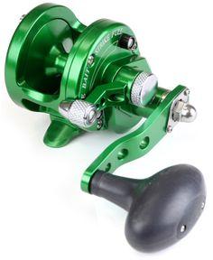 Avet SXJ 5.3 MC Single Speed Lever Drag Casting Reel Green