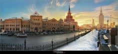 Москва, Казанский вокзал. / Moscow, Kazan train station.