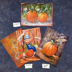 How to paint pumpkins and shade the. YouTube ginger cook live Oct 3 live show.