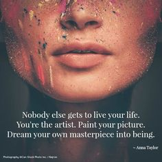 Paint your own #picture, no matter what they say