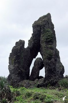 Orchid Island rock formations
