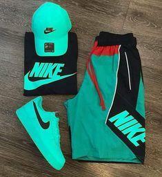😍 😍 😍 😍 nike air forces nike outfits, fashion o Cute Nike Outfits, Dope Outfits For Guys, Skater Outfits, Swag Outfits Men, Tomboy Outfits, Tomboy Fashion, Trendy Outfits, Mens Fashion, Yeezy Fashion