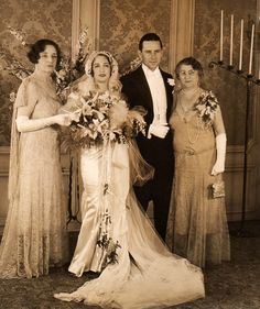 1930 Wedding  Valentino Vamp