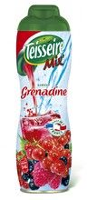 TEISSEIRE GRENADINE SYRUP $8.70 French children are partial to Teisseire syrups and grenadine is one their favorite flavors, maybe because of the beautiful ruby color. Diluted in plain or sparkling water, Teisseire syrups add a colorful touch to afternoon snacks.  The origin of Teisseire dates back to the early 18th century, when Mathieu Teisseire started making fruit based beverages. Today Teisseire makes the most popular syrups in France.  600 ml / 20.3 fl oz