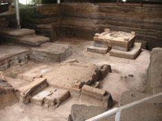 Joya de Cerén Archaeological Site, Department of La Libertad, Canton Joya de Ceren, jurisdiction of San Juan Opico, El Salvador. Inscription in 1993. Criteria: (iii)(iv)