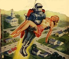 As a connoisseur of retro sci-fi pulp images, these are among my ...