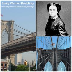 Women are the building blocks of many things but Emily Warren Roebling built the Brooklyn Bridge. #WHM #NYC