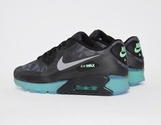 best website 74298 3d939  Nike Air Max 90 QS Ice Edition Black  sneakers Adidas Shoes Outlet, Nike