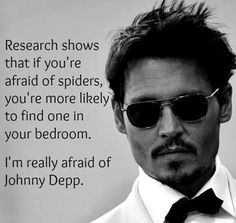 Be wouldn't be my first pick but i love johnny deep mmm mm