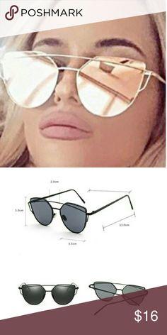 Purple and gold oversize sunglasses Sexy new cat eye Sunglasses 2017. Woman metal oversized cat eye sunglasses.Uv400 mirror Lenses. Accessories Sunglasses